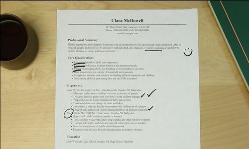 Chic Design Resume For Babysitter 16 Babysitter Resume Objectives ...