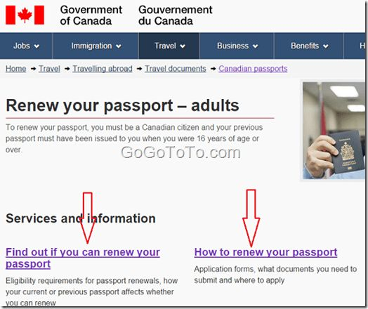 How to Renew Canadian Passport in Canada 2016 – Go Find To Get