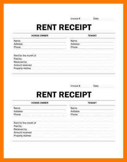 5+ rent slip format | park-attendant