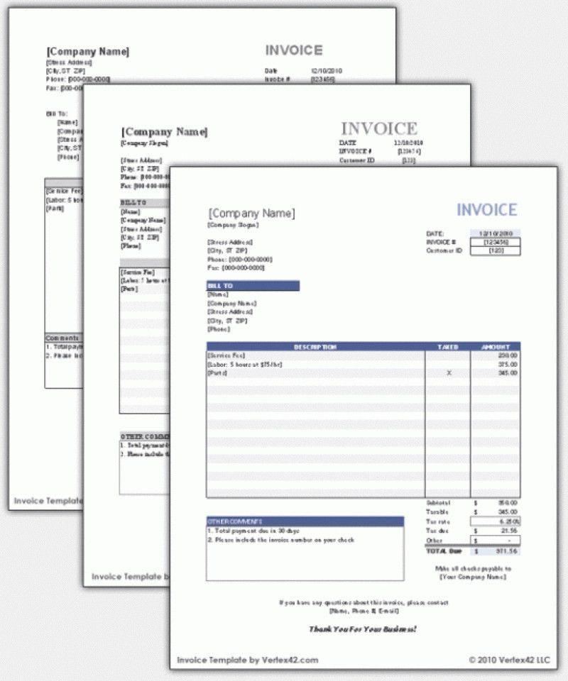 Simple Sales Invoice Template | rabitah.net