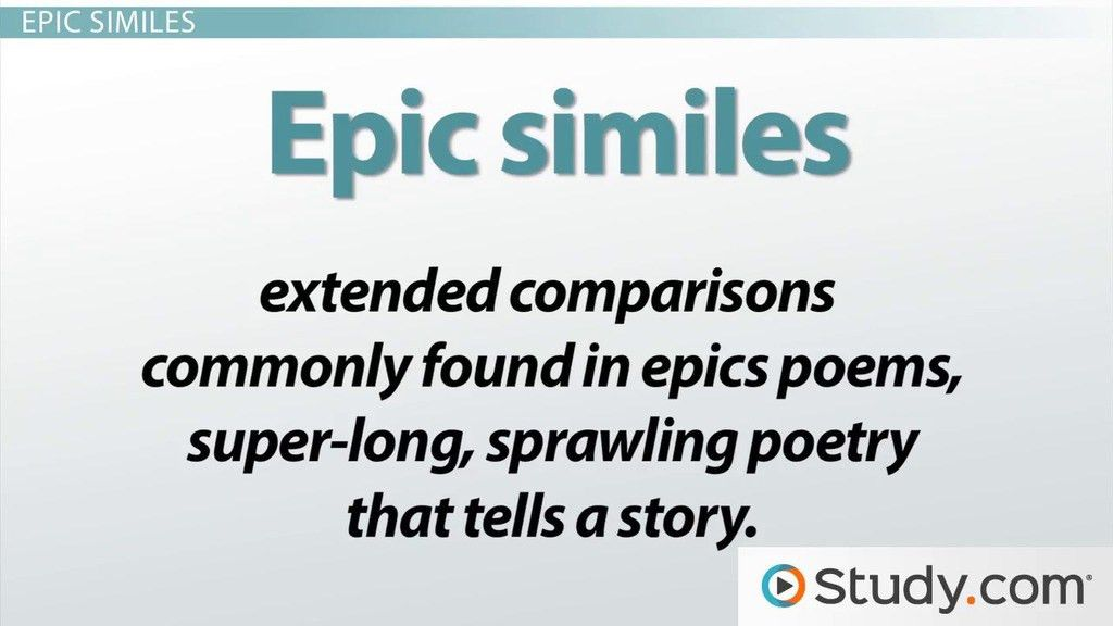 Similes in Literature: Definition and Examples - Video & Lesson ...
