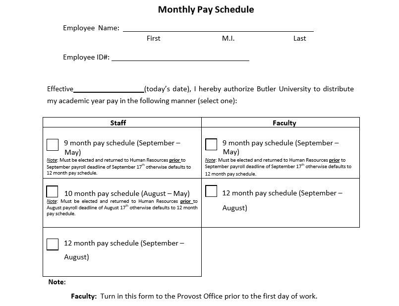 Salary Scale Template - Contegri.com