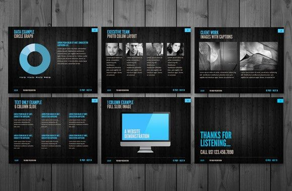 MOJO – A Clean and Modern PowerPoint Template