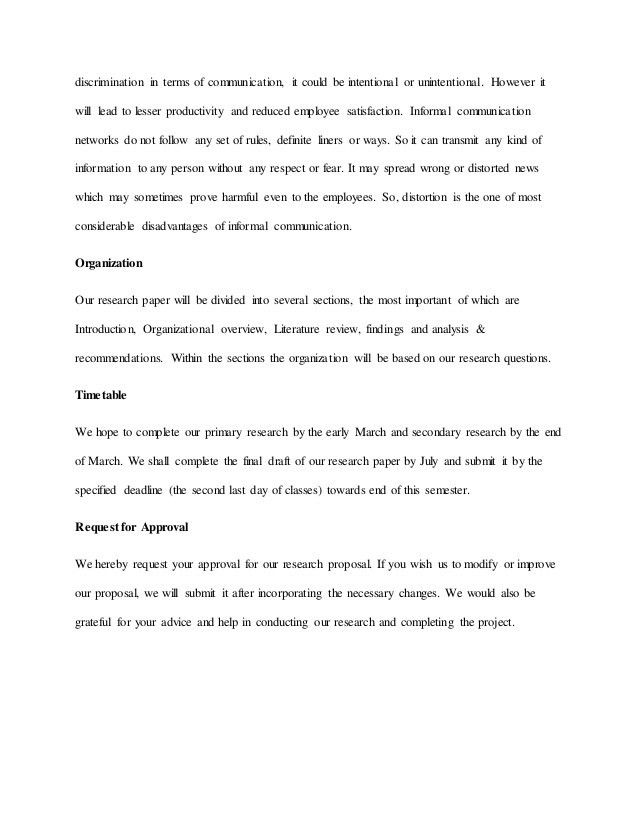Research proposal for Communication Probem Bashundhora Group Banglade…