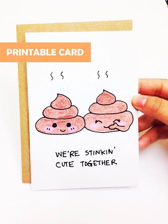 Funny anniversary card cute anniversary card by LoveNCreativity ...