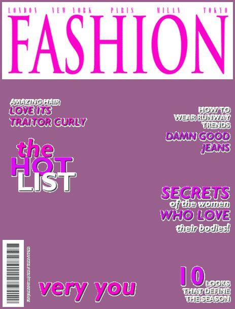 MAGAZINE COVER TEMPLATE | designproposalexample.com