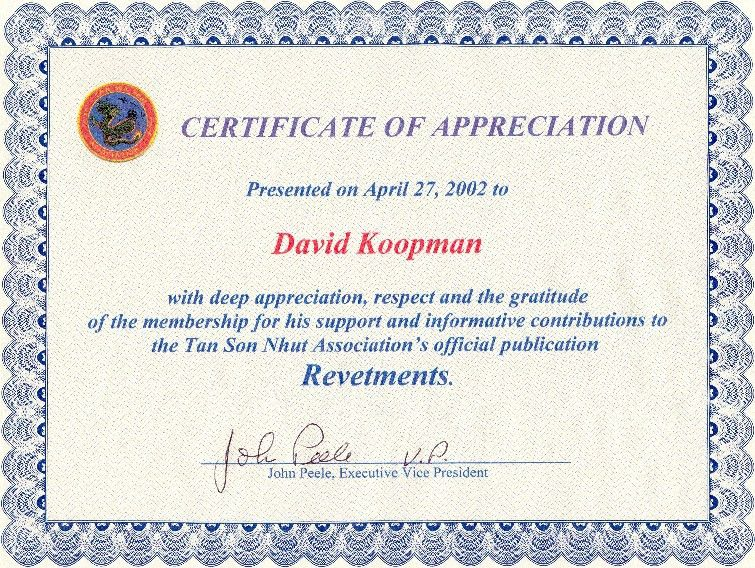 Doc.#600600: Appreciation Certificates Wording – How to Write a ...