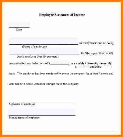 5+ Income Verification Form Template | Budget TemplateVerification ...