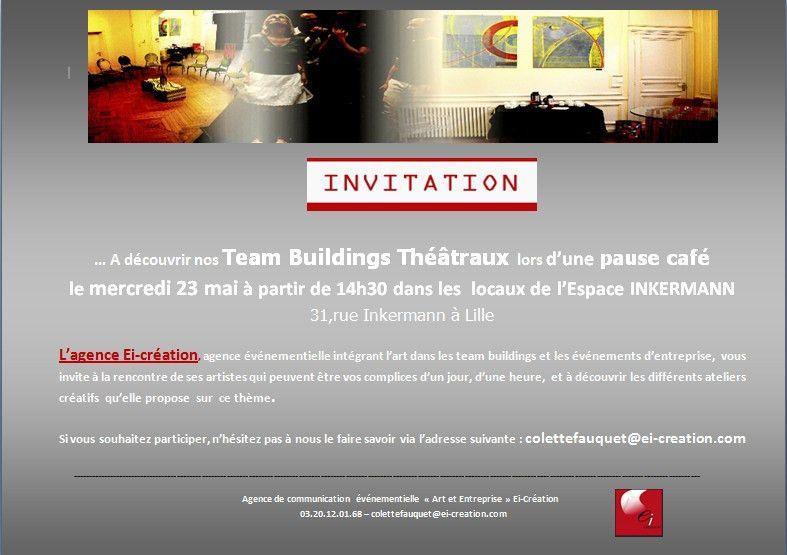 Découverte de nos Team Buildings Théâtraux | www.ei-creation.com