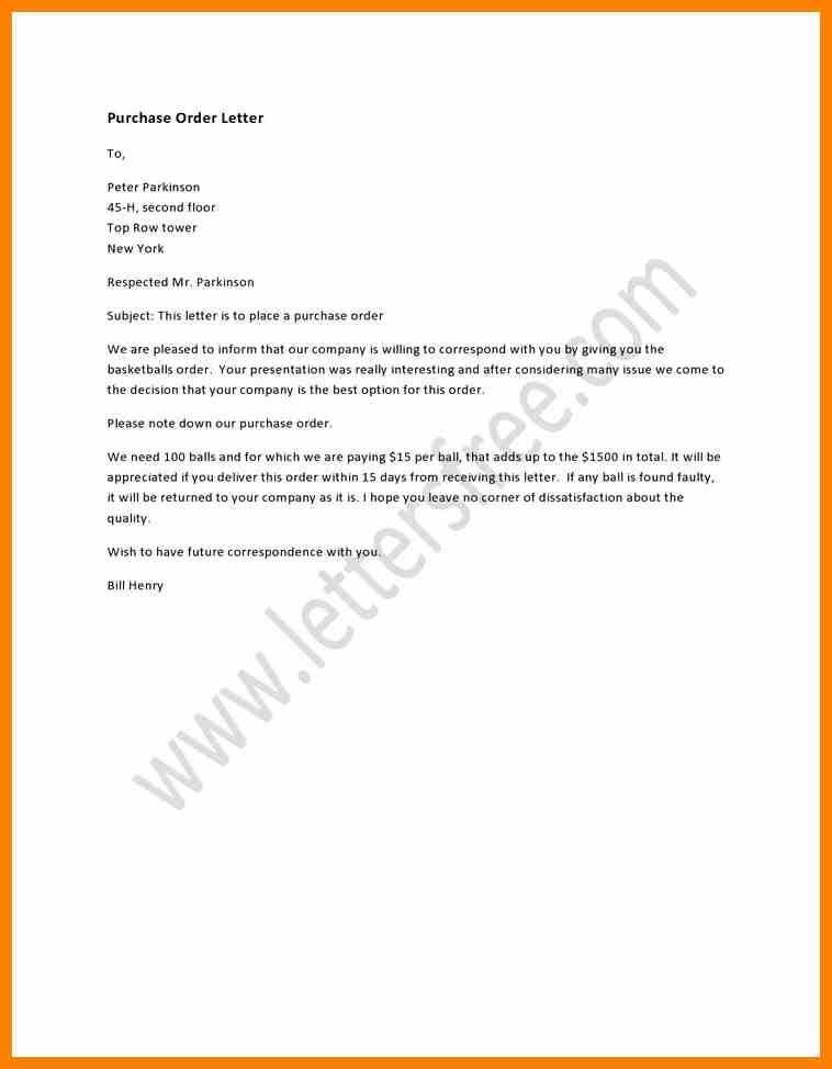 Order Letter. Inquiry Letter Purchase Inquiry Letter Purchase ...