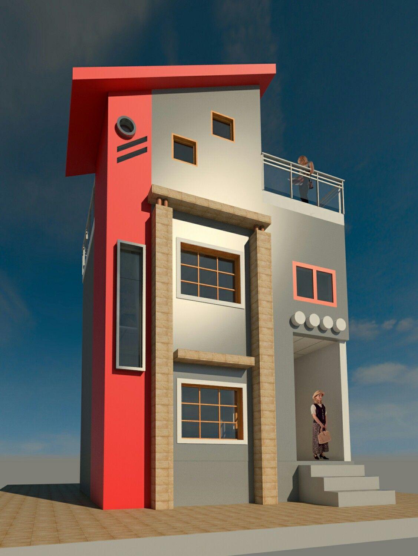 House design revit - Design By Pocha A Subhan Revit Autodesk 3d House_design