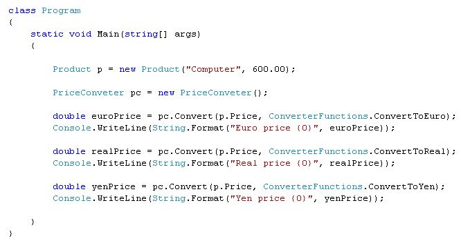 Delegates and Function Pointers in C# – Kakimoto Online