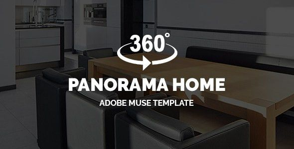 3D Panorama Adobe Muse Templates from ThemeForest