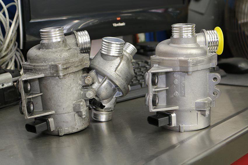 BMW N52 N54 Electric Water Pump Repair