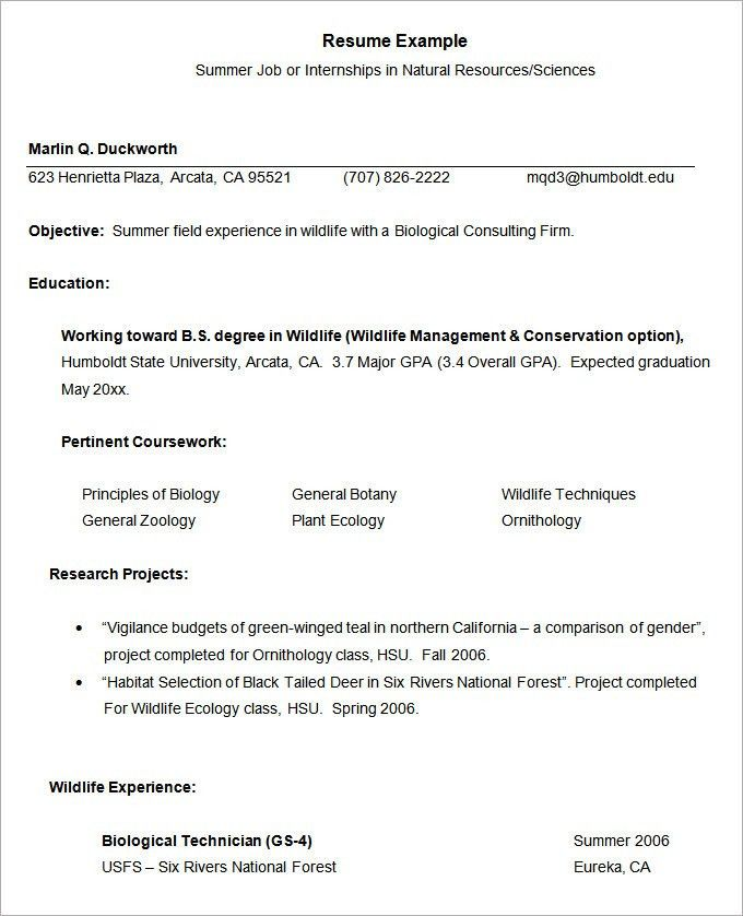 top 8 fisheries biologist resume samples. summary profiles for ...