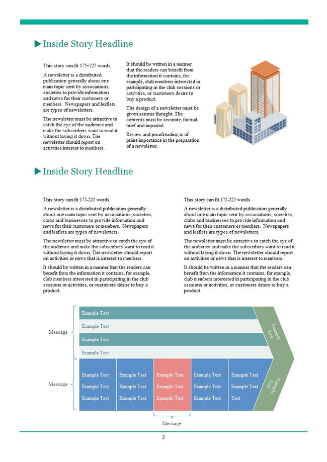 Company Newsletter | Free Company Newsletter Templates