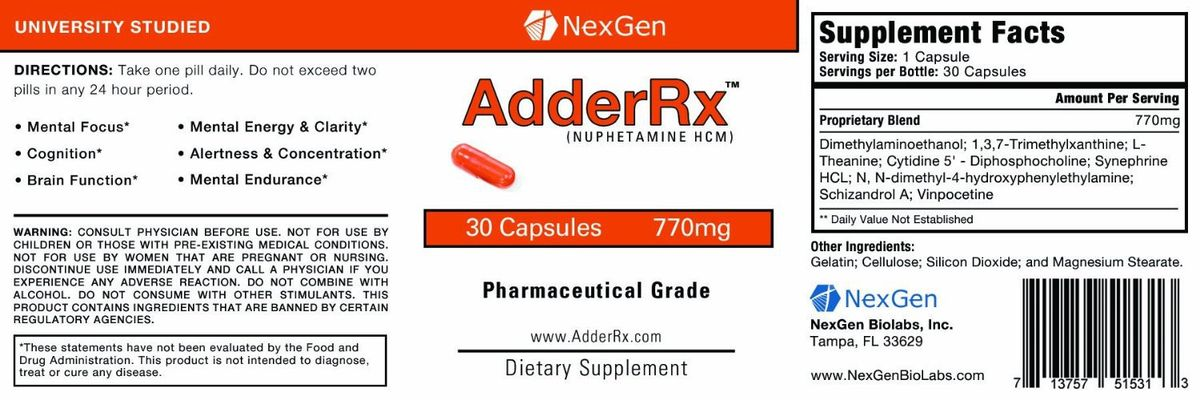 AdderRX Reviews, Where Buy In Stores? CVS & GNC | Doxiderol