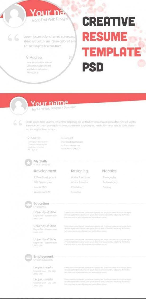 Curriculum Vitae : Build Your Resume Online For Free Cv Makeup ...