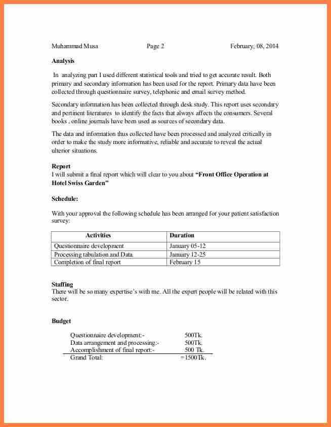 3+ informal proposal   Invoice Example 2017