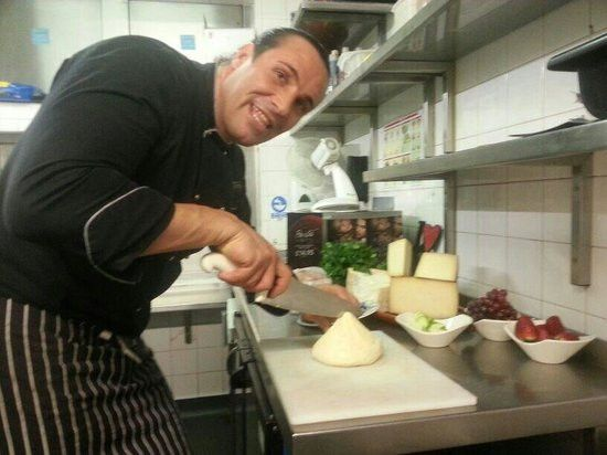 Jorge kitchen manager - Picture of La Tasca - Canary Wharf, London ...