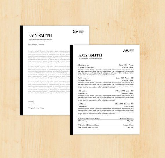 Resume & Cover Letter Writing and #Design Package… | Writing ...