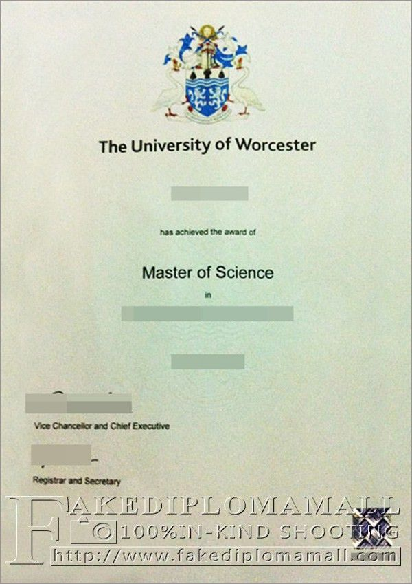 buy a MSc degree from University of Worcester_Buy degree|buy ...
