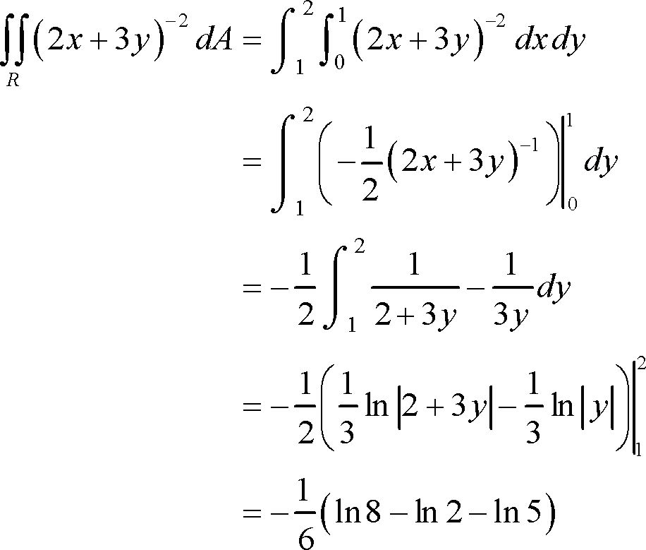 Calculus III - Iterated Integrals