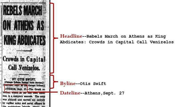 Step 1: Article - Newspapers and Magazines as Primary Sources ...
