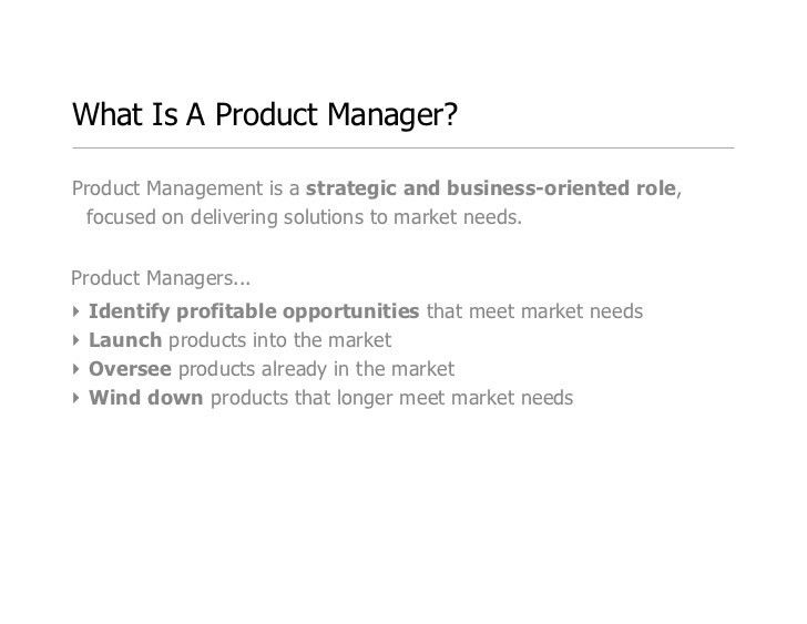 Product Manager 101: What Does A Product Manager Actually Do?