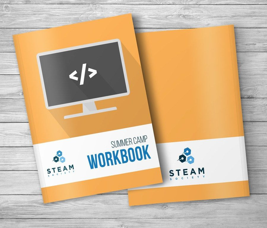 Entry #15 by mayravbf for Workbook Template design and cover page ...