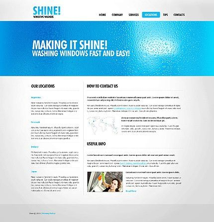 7 Best Images of Cleaning Services Website Template - Cleaning ...