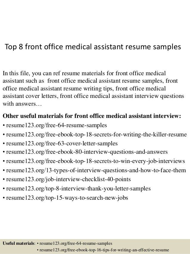 top-8-front-office-medical-assistant-resume-samples-1-638.jpg?cb=1431473392
