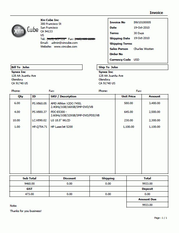 Quotation Template Invoice Template Sample Invoice - Resume Templates