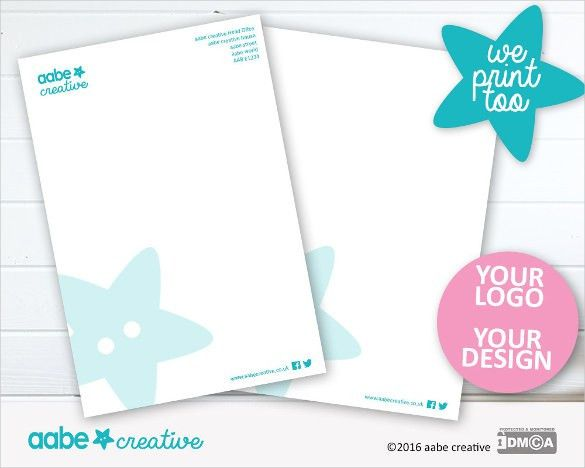 23+ Letterhead Design Templates – Free Sample, Example Format ...