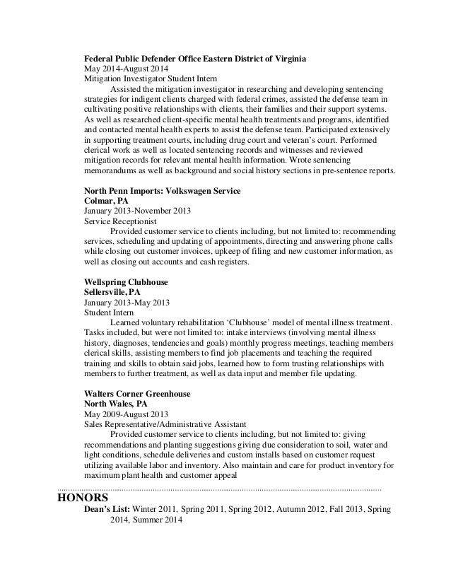 Chelsea Steever Resume