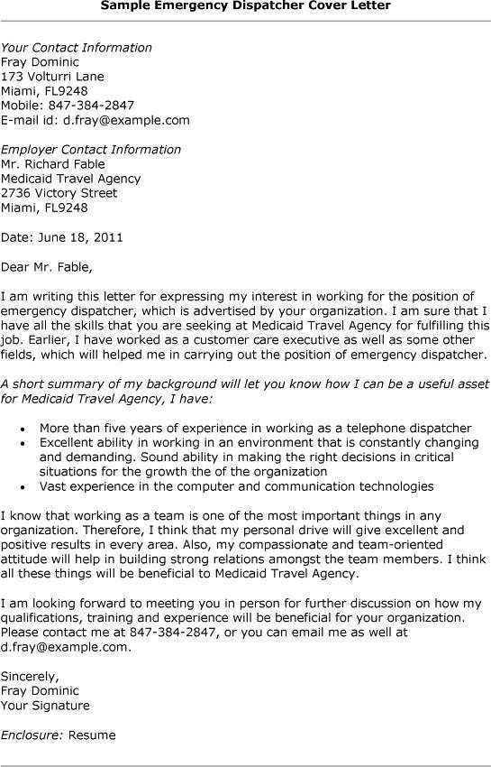 Dispatcher Resume Format - http://www.resumecareer.info/dispatcher ...