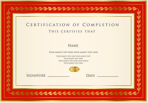 Best certificates design vector set Free vector in Encapsulated ...
