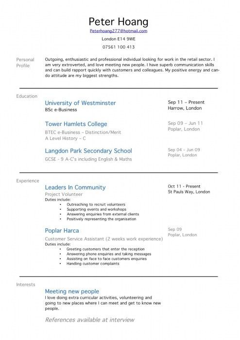 Great Career Objectives For Resumes