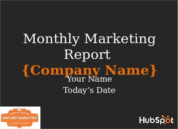 Marketing Report Template - 10+ Free Word, PDF Documents Download ...