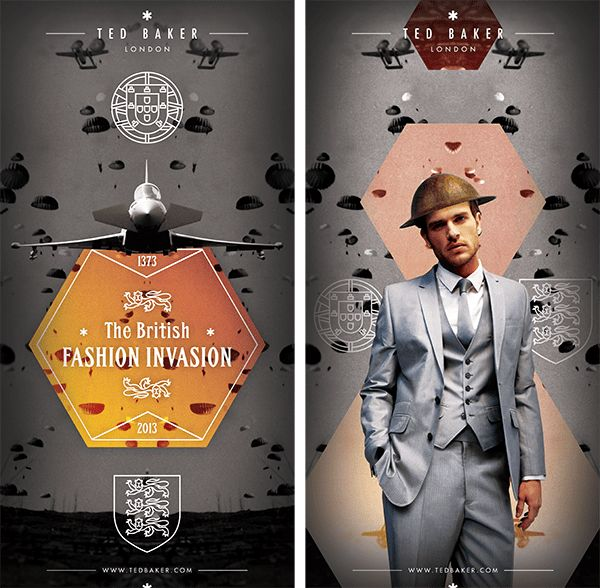 D&AD - The British Fashion Invasion on Behance