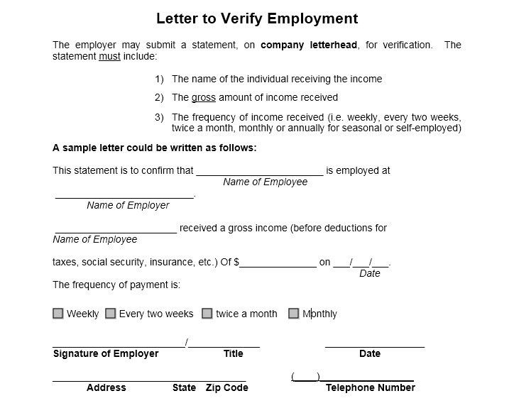 12 Free Sample Employment Certificate Templates – Printable Samples