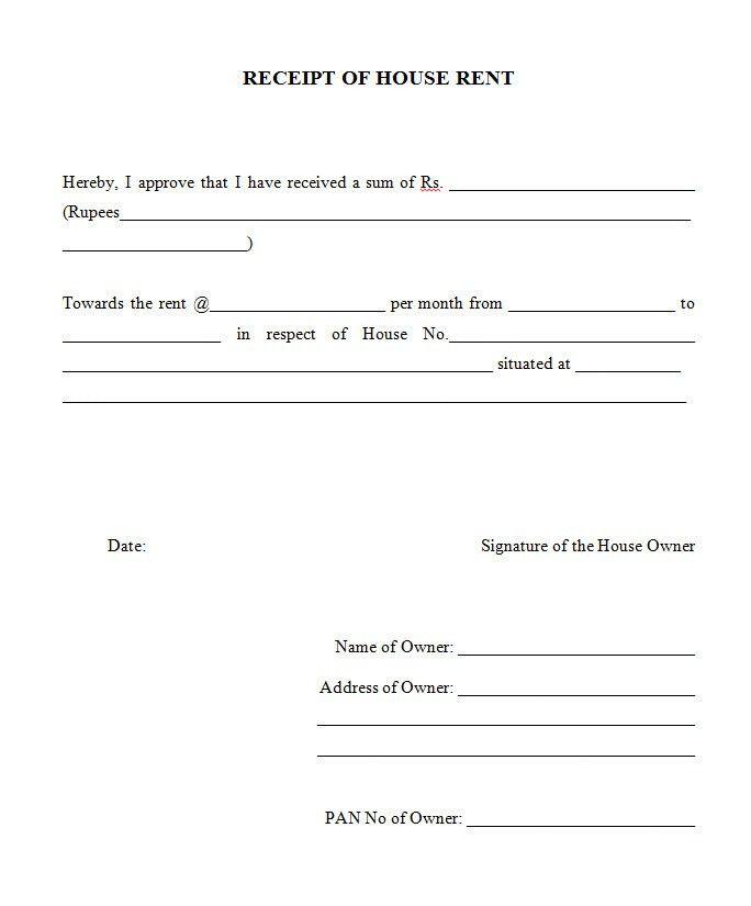 rent receipt download