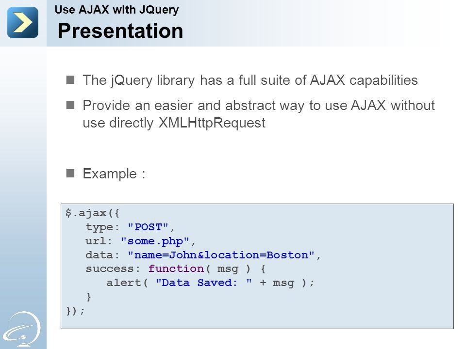Interactive Web Application with AJAX - ppt download