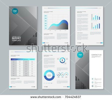 Company Profile Annual Report Brochure Fl Stock Vector 404085565 ...
