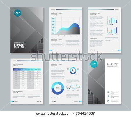Company Profile Annual Report Brochure Fl Stock Vector 404085565 ...