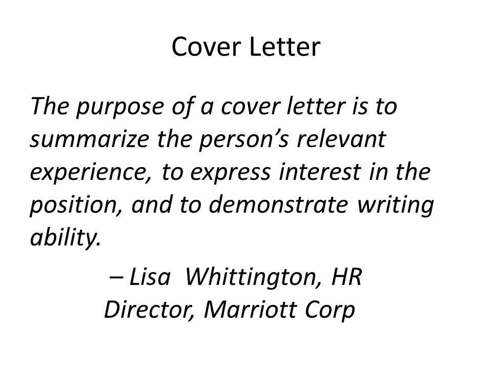 Cover Letter Magic Rachael Wendler, English 307. Cover Letter The ...