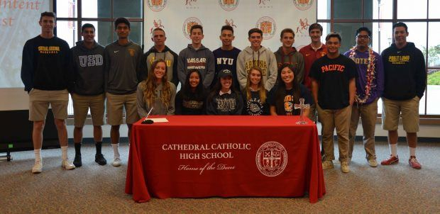 17 Dons Signed Their National Letter of Intent – Cathedral ...