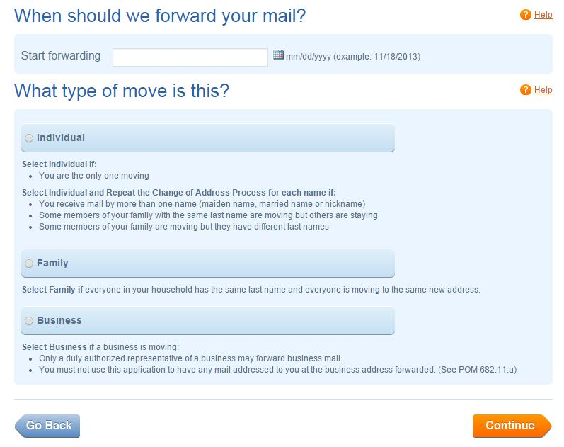 How To Fill USPS Change Of Address Form Online Free – In Five ...