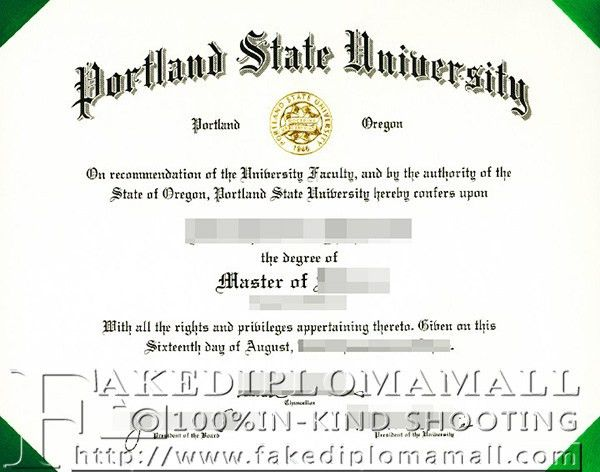 master degree from Portland State University_Buy degree|buy ...
