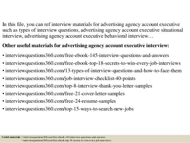 cover senior advertising manager sample resume 21 resume tips for ...